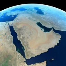 The Middle East From Space