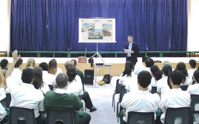 Park House English School Construction Industry Talk