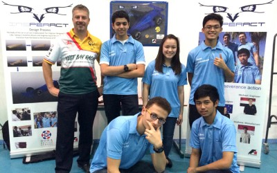 Quantum supports winning F1 School Competition Team