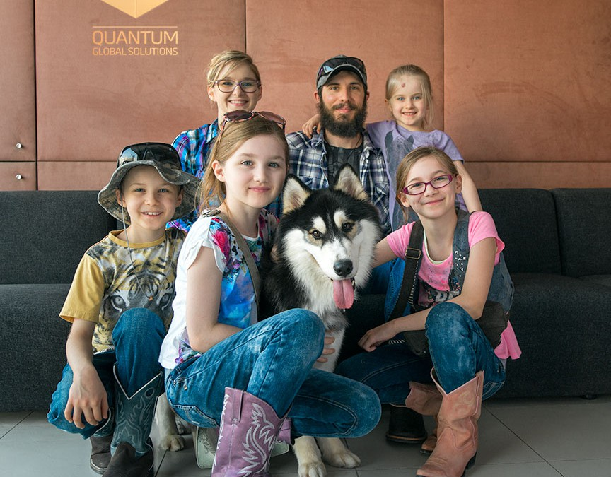 Quantum agrees long-term partnership with PAWS Rescue Centre