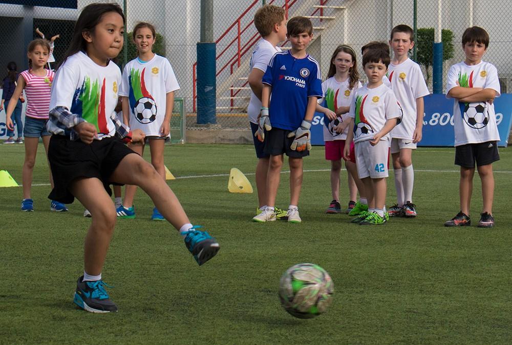 Quantum arranges Family Football Fun Day