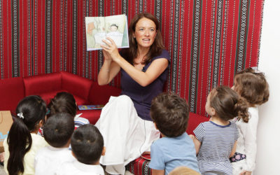 Author Kay Woodward hosts story-time session at World Book Day celebration