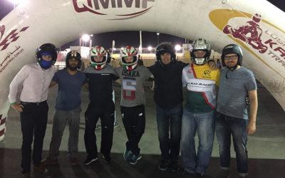 Quantum team burn rubber at CIOB Go-Karting event
