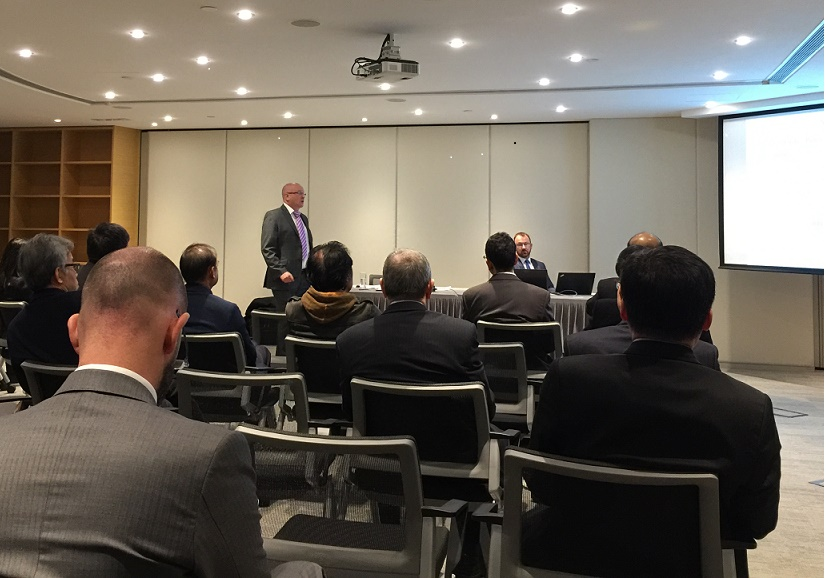 Steven Beaumont presents to Society of Construction Law in Hong Kong