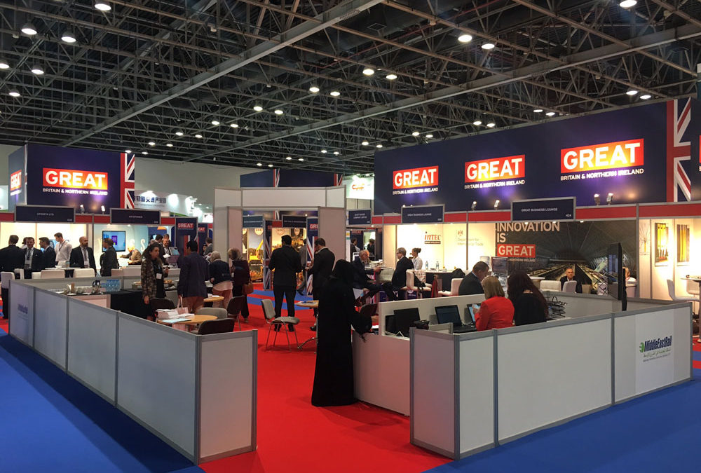 Ian Maund attends Middle East Rail Exhibition