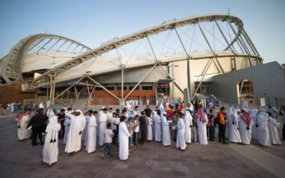 Qatar launches first 2022 FIFA World Cup stadium