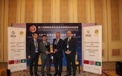 Quantum and Sinohydro sign Strategic Cooperation Agreement