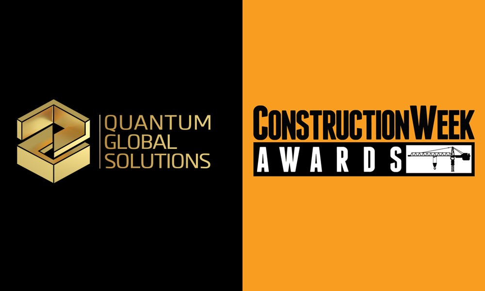 Quantum shortlisted for two industry awards by Construction Week Magazine