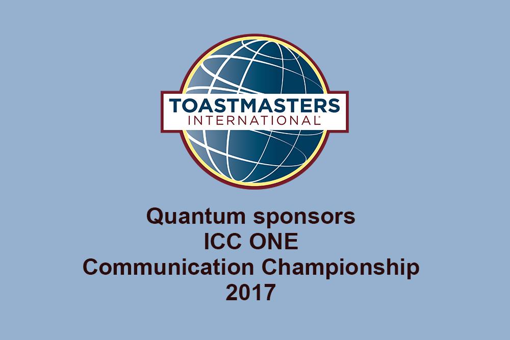 Quantum sponsors ICC ONE Communication Championships 2017